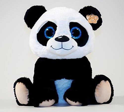 Peluche+Panda+Yeux+brillant+60+cm
