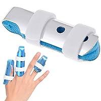 JUSTDOLIFE Finger Splint Breathable Finger Brace Finger Support for Broken Arthritis Finger