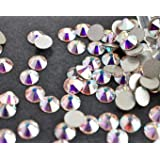 Swarovski Crystals Cristal Aurore Boreale (001 Ab) faux diamant Nail Art- 60 Pieces