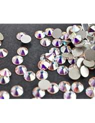 Swarovski Crystals Cristal Aurore Boreale (001 Ab) faux diamant Nail Art- 2.8Mm (Ss10) 60 Pieces