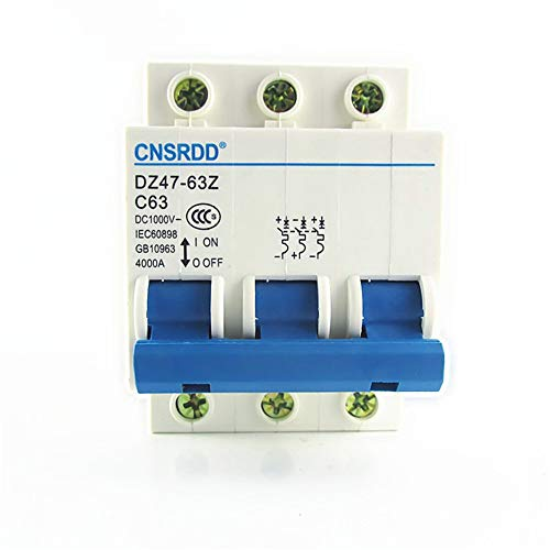 OIASD Unterbrechungsschutz für Photovoltaik-Gleichstrom-Trennschalter DZ47-63Z 3P, 63A