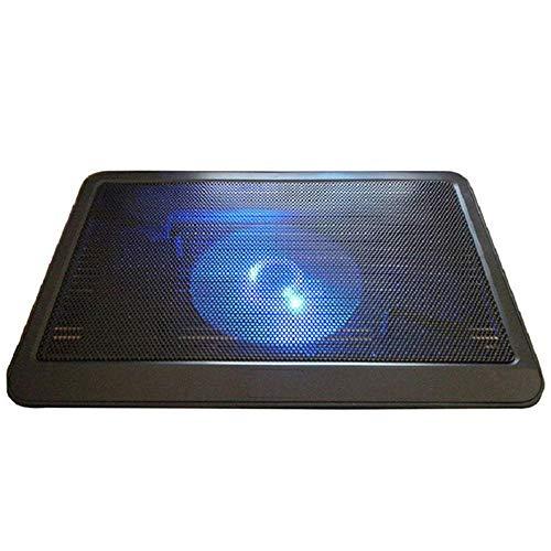 TEEPAO Laptop-Kühlpad, tragbarer USB-betriebener Laptop-Kühler, starker Wind und geräuscharm, für 10-14 Zoll Laptops und schlanke Notebooks -