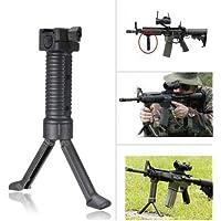 NO LOGO Lixia-Grips, Grip táctico del Rifle de Soporte Vertical Edición Empuñadura Frontal Militar Bípode Picatinny Rail Weaver 20mm
