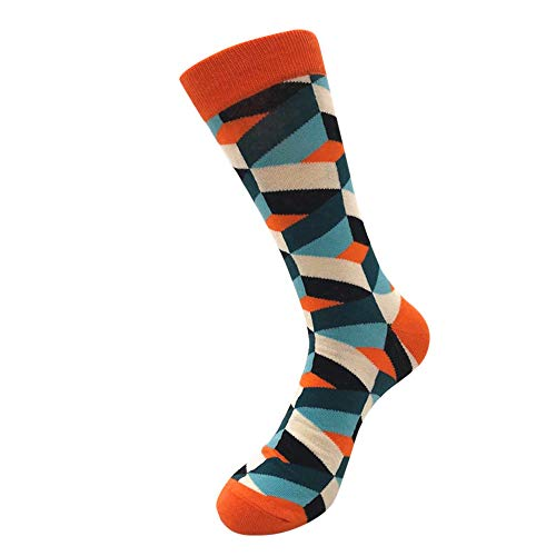 Jumbo-netz Strümpfe (Bayliney 1 Paar Damen Socken Bunt Gemusterte Herren Socken Socken Wintersocken Stricksocken Baumwolle Damensocken Socken Wintersocken Stricksocken Baumwolle Damensocken(A))