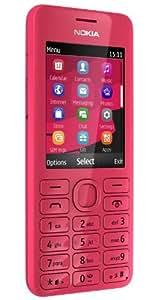 Nokia 206 DS Téléphone portable Dual Sim Appareil photo 1,3 Mpix Lecteur MP3 Bluetooth Magenta