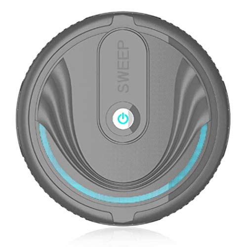 Gikeba Robot de Barrido Inteligente del hogar Limpiador automático Mini Aspirador Inteligente Aspiradoras...