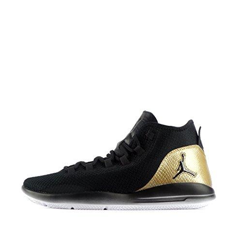 Nike - 866037-001, Scarpe sportive Uomo Nero (Nero / Bianco-Metallic Gold)