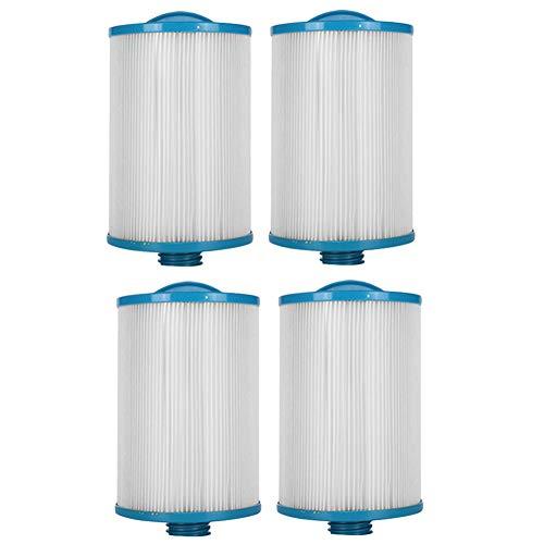 HLL Filterpatronen LX-621 Spa-Filter Pumpe Ersatz Schwimmbad/Lay-Z-Spa/Whirlpools (4Pack)