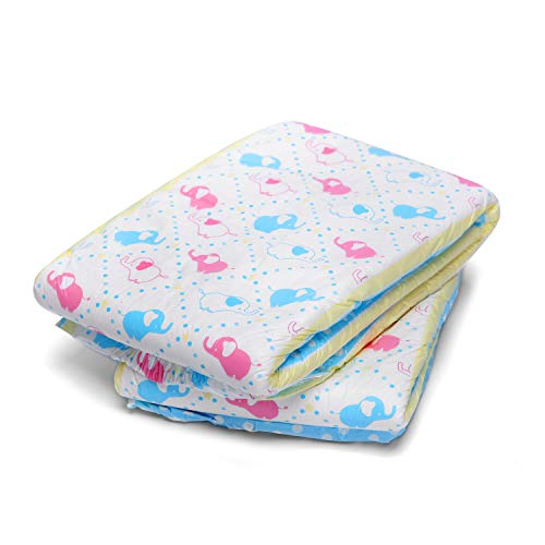 LittleForBig impreso para adultos calzoncillos pañales 2 piezas-Poco Elefantito M