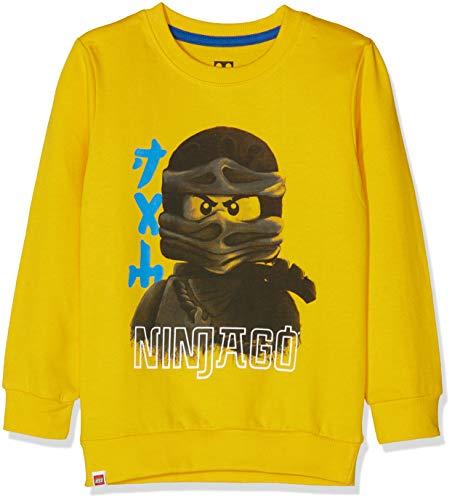 Lego Wear Lego Boy Ninjago cm - 73087 21063, 0.Keine Angabe, Gr. 110, Gelb (Yellow ()
