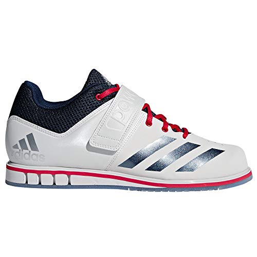 adidas Stars und Stripes Limited Edition Powerlift 3.1Gewichtheben Schuh-Weiß, Weiß, 12 UK