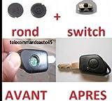 Kit réparation Bouton + Switch pour clé télécommande plip peugeot 406 partner