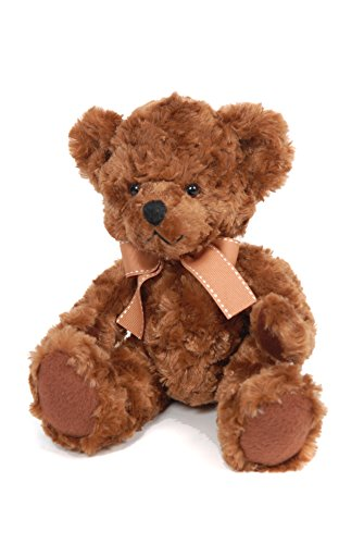 suki-gifts-bear-from-the-past-james-soft-plush-traditional-bear-medium-chocolate-brown-with-brown-ri