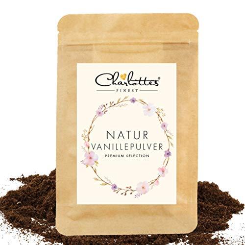 Charlottes Finest Natur Vanille gemahlen - Vanillepulver 25g