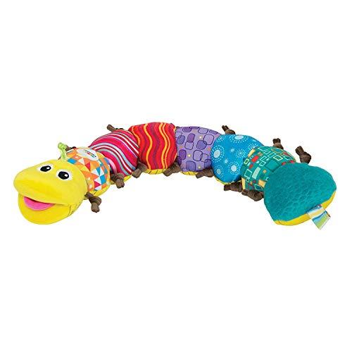 Lamaze Babyspielzeug mit Musik Musik-Wurm mehrfarbig - hochwertiges Kleinkindspielzeug - fördert den Tastsinn und das Hörvermögen Ihres Kindes - ab 0 Monate