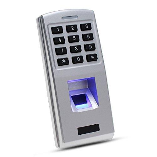 andalone Access Controller Board Finger Biometrische Identifikation mit Passwort-Tastatur für Türschloss Control System 500 Benutzer ()