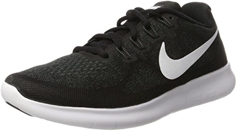 Nike Free RN 2017, Zapatillas de Entrenamiento para Hombre, Negro (Black/White/Dark Grey/Anthracite), 43 EU