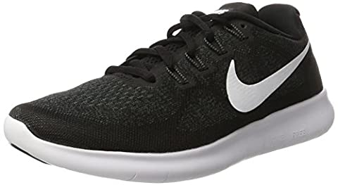 Nike Herren Free RN 2017 Laufschuhe, Schwarz (Black/White-Dark Grey-Anthracite), 45.5 EU