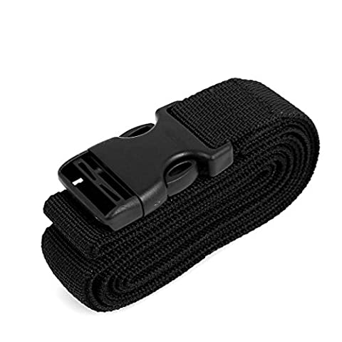 sourcingmap® Side Release Buckle Luggage Suitcase Baggage Belt Strap 2Mx25mm