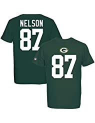 Majestic NFL JORDY NELSON #87 - GREEN BAY PACKERS Player T-Shirt