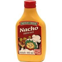 Squeeze Cheese, Crema de queso para mojar y untar (Nacho) - 12 de