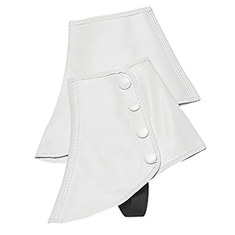 Snap Spats (White, 2XL) by Director's Showcase