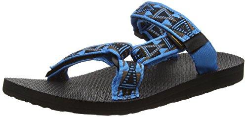 Teva Herren M Universal Slide Sandalen, Blue (Mcb), 44.5 EU
