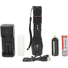Lawevan® LED CREE XM-L T6 1600 LM Torcia Chiara 5