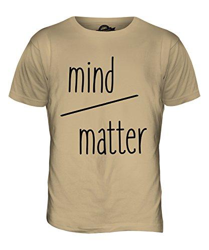 CandyMix Mind Over Matter Willenssache Herren T Shirt Sand