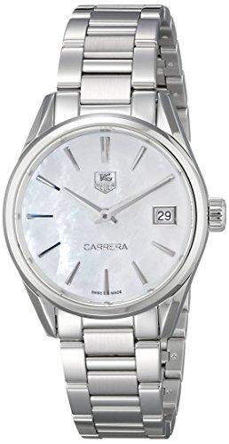TAG HEUER Carrera Damen-Armbanduhr 32MM Armband Edelstahl Quarz WAR1311.BA0778