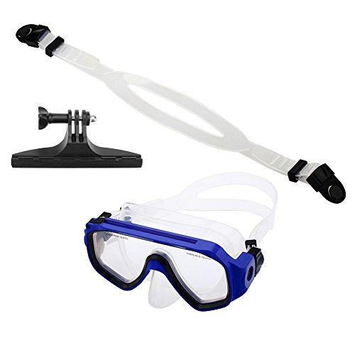 Andoer Schwimmbrille Tauchmaske für GoPro Hero 4 3+ 3 2 1 Kamerahalterung Sjcam Sport