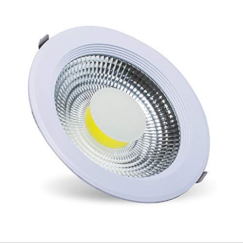 DEPAOSHJ 10W 15W 20W 30W COB LED Empotrable Downlight Sala de estar...