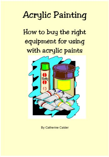 Acrylic Painting, How to buy the Right Equipment for using with Acrylic Paints