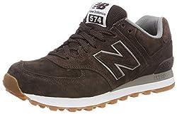 New Balance Herren, nbml574fsb, braun (Brown Full Pigskin), 42