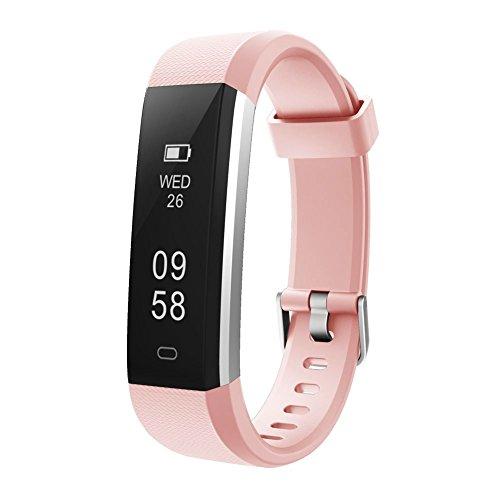 Letsfit Fitness Tracker, Sports Fitness Tracker Armbanduhr mit Slim Touch Bildschirm, tragbarer Activity Tracker, Schrittzähler Schrittzähler Schlafen Monitor Kalorienzähler Uhr für Android und IOS