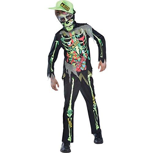 Amscan Giftiger Zombie Halloween Kostüm Kinder ()