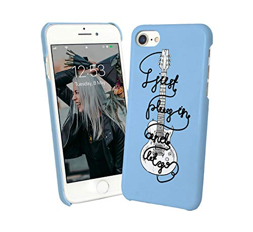 Electric Guitar Music Quote Just Play In And Let Go Passion_001441 Case For  Compatible With iPhone XS MAX XSMAX Carcasa De Telefono Estuche Protector
