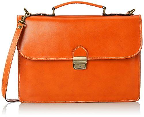 Chicca Borse Unisex-Erwachsene Taschenorganizer, Orange (Arancione), 38 cm -