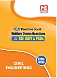 3200 MCQs : Civil Engineering- Practice Book for ESE, GATE & PSUs