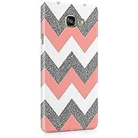Coral Pink Chevron Glitter Pattern Tumblr Coque De Protection Fine En Plastique Housse Etui Rigide Pour Samsung Galaxy A5 2016 Slim fit Case Cover