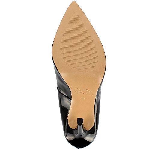 Lisa Donna brevetto in pelle pompe Black