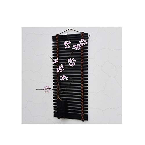 Yougou01 decorazioni da parete, stile minimalista cinese, soggiorno camera da letto sala da pranzo tv arazzi, (fiori bianchi, fiori rosa, cartamo),design raffinato (edition : c)