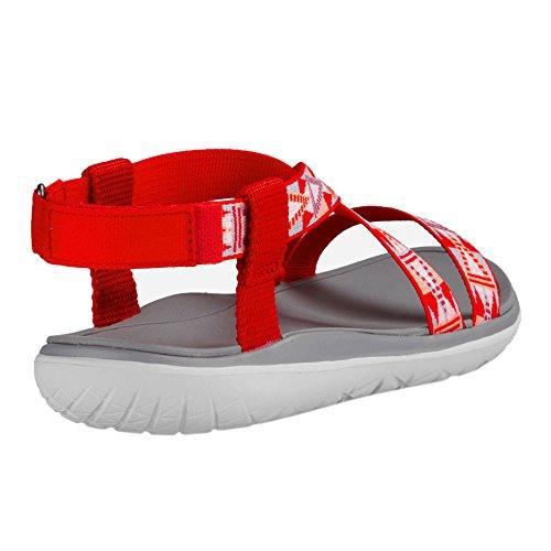 Teva Damen Terra-Float Livia W's Sport-& Outdoor Sandalen Red
