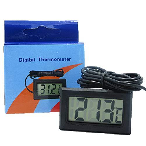 Prima05Sally Termómetro LCD Digital congelador batería