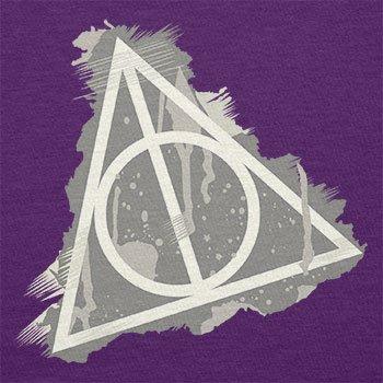 NERDO - Harry's Sign Splash - Damen T-Shirt Violett