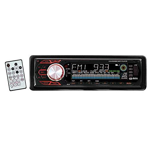 Kenvox M-110035 Autoradio Diversion 600U AM-FM mit RDS, CD-Player, USB und AUX-Eingang