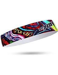 Shinmax Running Cycling Headband de Yoga para el Paseo, Colorido Deporte Sweat-absorbent Banda de Escalada (Colorido)