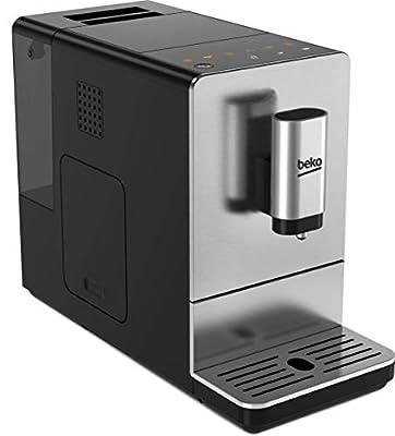 Beko 8813513200 Compact CEG5301X Bean to Cup Coffee Machine, 19 Bar Pressure-Stainless Steel from Beko