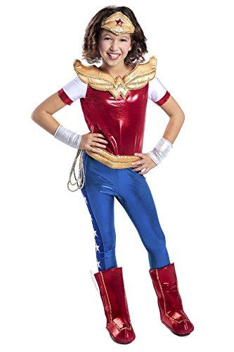 DC Super Hero Girls Premium Wonder Woman Child Costume XL(12) (Xl Wonder Woman Kostüme)