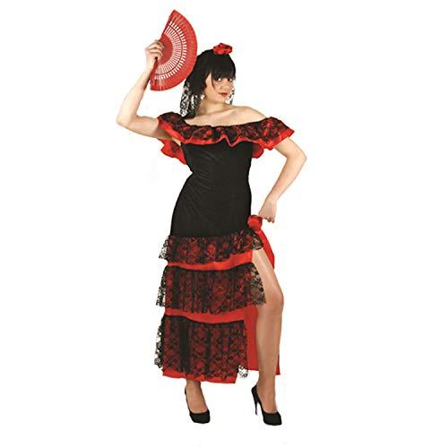 Flamenco Dancer Spanish Dancer Salsa Samba Senorita Ladies Fancy Dress Costume